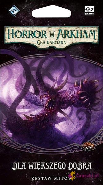 Horror w Arkham: Gra karciana: Dla większego dobra | Galakta